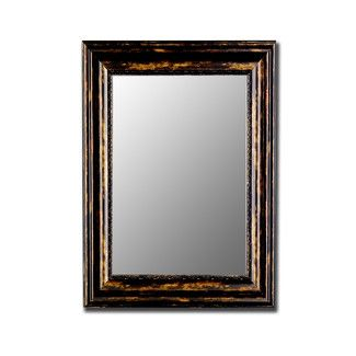 Hitchcock Butterfield Company Antique Copper Black Wall Mirror