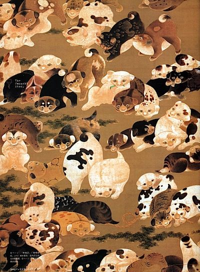 Traditional Culture, Japanese paintings, Japanese art,伊藤若冲,
