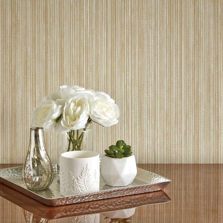Grasscloth, Removable Wallpaper, Self
