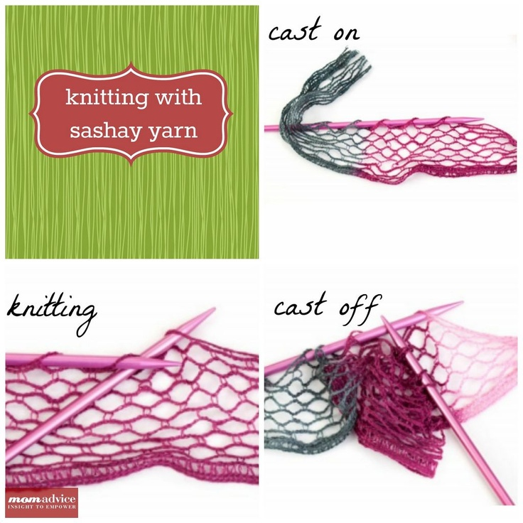 Easy Knitted Ruffled Scarf With Sashay Yarn