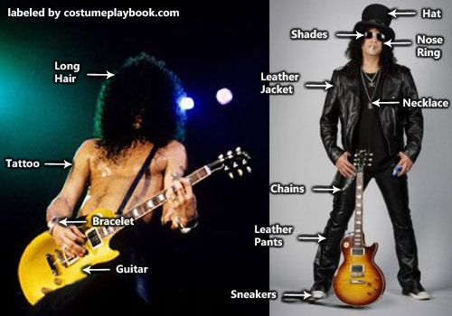 Costume for Slash of Guns n Roses