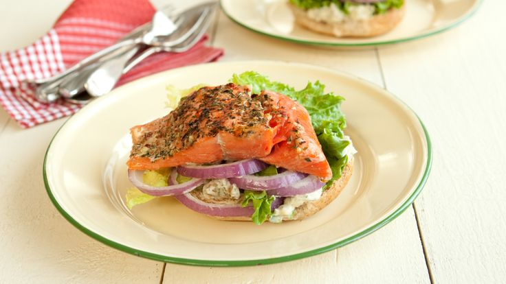 West Coast Grilled Salmon Burger