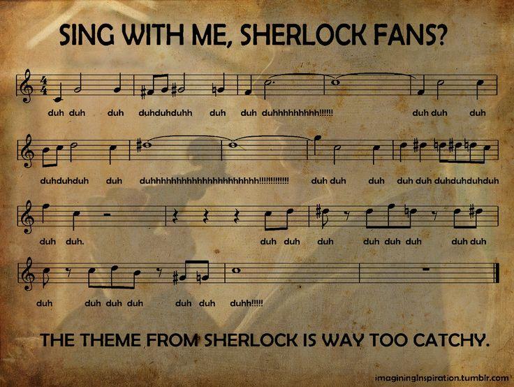 The Sherlock Theme Song