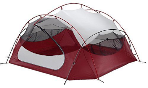 Generic Summer Light 2 Person Tent Color Red -- Click on the image for additional details.