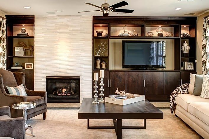 Living Room Off Center Fireplace Design Ideas Pictures Remodel And Decor