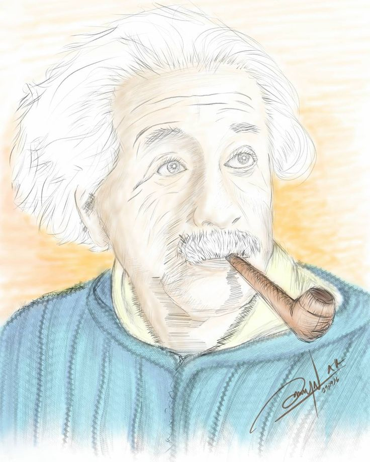 """Digital sketch """"Potrait of Einstein"""" Finally done.. i hope everyone enjoy my sketch.. .  ## Quote ## """"Imagination is more important than knowledge. """"  by Albert Einstein  #Autodesk #Sketchbook #Samsung #Galaxy #Note 5 #albert #einstein #alberteinstein #potrait #photograph #digital #art #digitalart #paint #sketch #drawings #blue #yellow #pencil #note5 #imagination #quotes #quote #imagination #knowledge #quoteoftheday #scientist #man #old #illustration"""