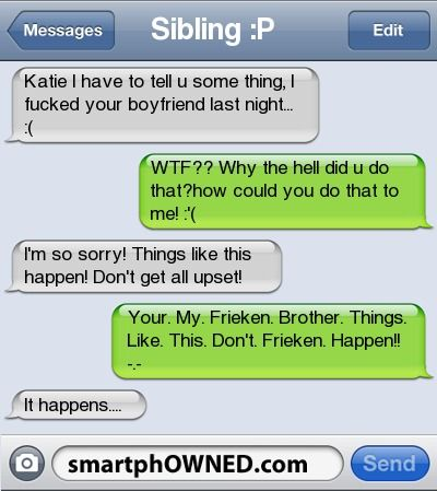 Lol - Relationships - Jun 2, 2011 - Autocorrect Fails and Funny Text Messages - SmartphOWNED
