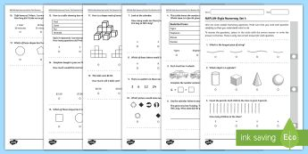 NAPLAN Style Numeracy Year 3 Example Test Set 4 Exam Questions Pack - NAPLAN-style practice tests, NAPLAN, numeracy, NAPLAN test, maths,Australia