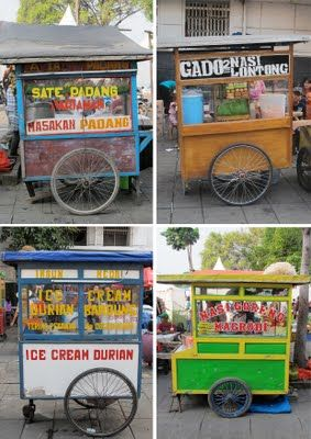 Indonesian street food carriage