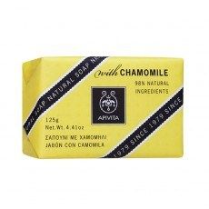 APIVITA NATURAL SOAP WITH CHAMOMILE http://www.greekpharma.com/shop/apivita-natural-soap-chamomile/