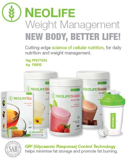 New Body. New Life. Cutting-edge science of cellular nutrition, for daily nutrition and weight management.