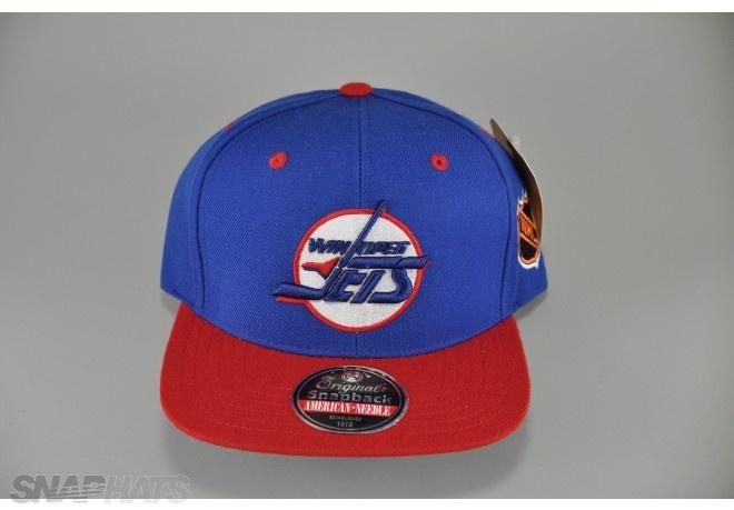 Winnipeg Jets Logo Snapback Hat