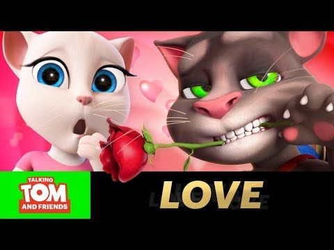 Happy New Year best wishes for friends - talking tom cat - YouTube