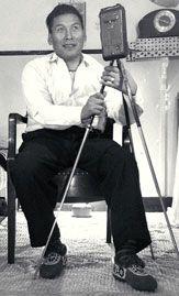 Peter Pitseolak with camera, circa 1947 http://www.civilization.ca/cmc/exhibitions/hist/biography/biographi235e.shtml