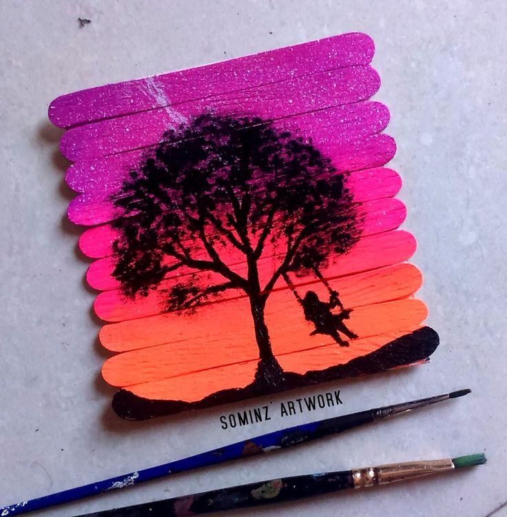 25 best popsicle stick art ideas on pinterest craft for Popsicle stick creations ideas