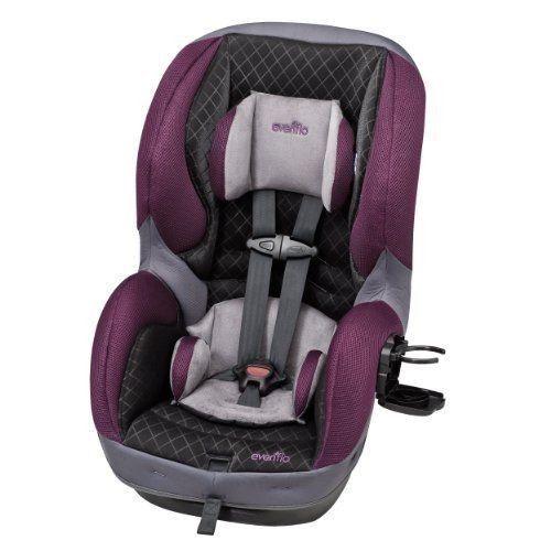Evenflo Sureride Dlx Convertible Car Seat Sugar Plum New Evenflo