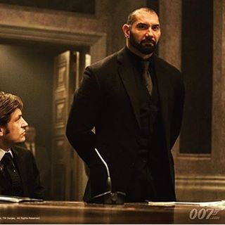 The henchmen Mr. Hinx in Spectre! Played by dave bautista ...