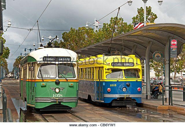 san-francisco-heritage-streetcars-f-line-30-vintage-trams-california-cb6yw1.jpg (640×445)