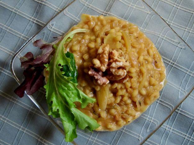 Primi piatti vegan con orzo, zafferano e finocchi | Ricette di ButtaLaPasta