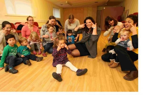 Melissa teaching her class in Southampton gets a visit from her local MP