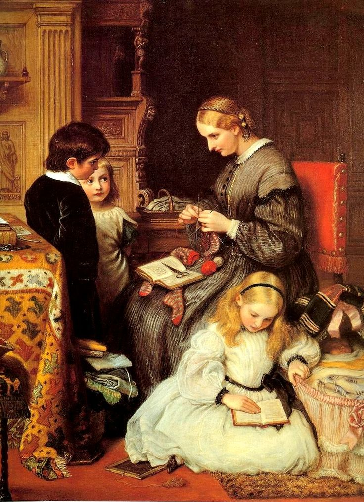 Victorian British Painting: Charles West Cope
