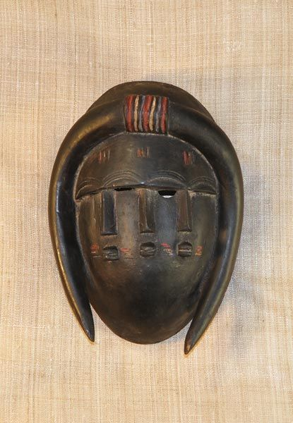 African Masks - Jimini Mask 17 - Front - Click to return to the top of the page.