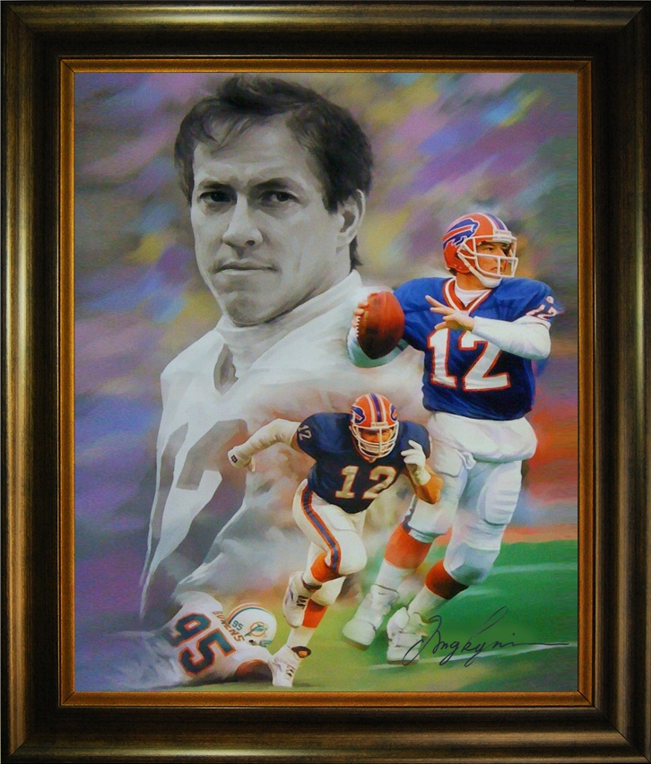 James Edward Kelly (2/13/60).  Kelly was the third quarterback drafted in the 1983 NFL Draft.  Employing the K-Gun offense known for it's hurry up shotgun formations, used by later teams like Peyton Manning's Indianapolis Colts, and leading one of the great NFL scoring juggernauts in the Buffalo Bills, Kelly led the Bill to four consecutive Super Bowls in 1990, 91, 92 and 93.  In 2002, in his first year of eligibility, he was inducted into the Pro Football Hall of Fame.