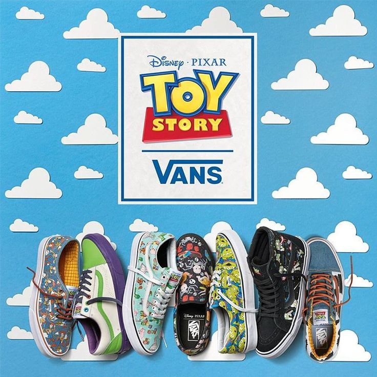 Vans x Toy Story Via Vans EUROPE