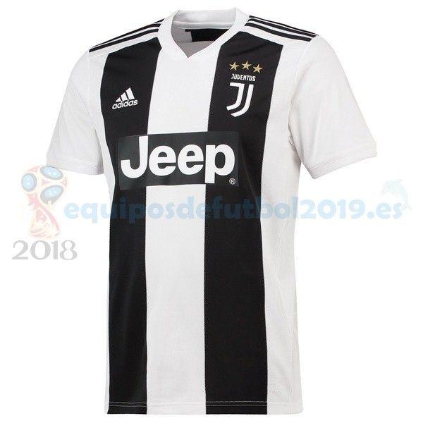Futbol Originales Casa Camiseta Juventus 2018 2019 Blanco Negro ... 8b9642eef3d90
