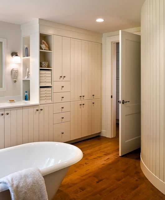 Amazing Storage Closet In Bathroom!