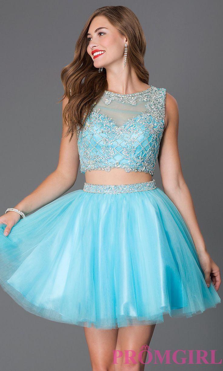 Modern Short Babydoll Prom Dresses Pattern - Wedding Dress - googeb.com