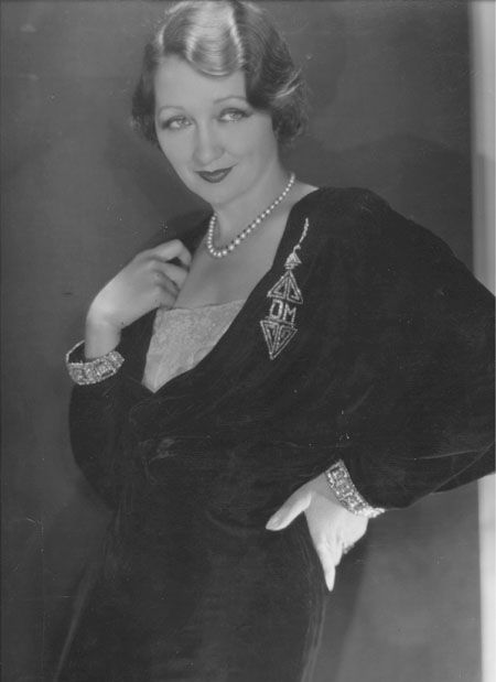 George Hurrell - Hedda Hopper (c1931)