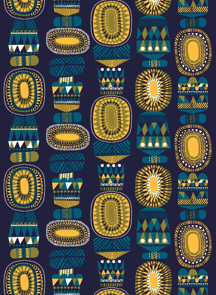Lamppupampula organic cotton Description: Allure Of Midnight. The beautiful new print Lamppupampula captures the spirit of a glowing lantern on a winter's night. Sanna Annukka designed Lamppupampula and its colorful large-scale motifs add vibrancy to any space. The 100% organic cotton fabric makes a gorgeous tablecloth or wall hanging, and stunning wearable pieces.
