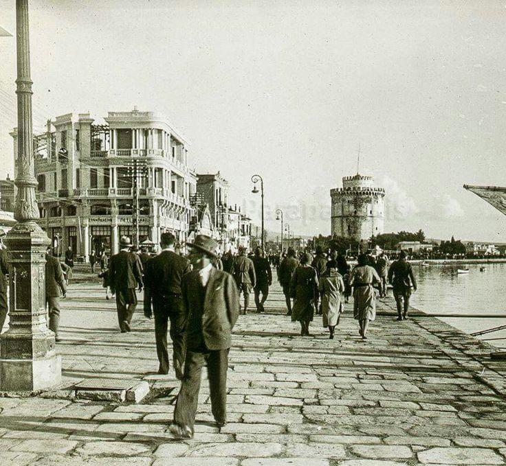 Λεωφ.Νίκης '30ς,στην γωνία με στρ.Καλλάρη το Petit Palais(πιθανόν φωτο Λυκίδη)