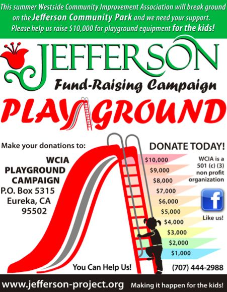 playground fundraising flyer
