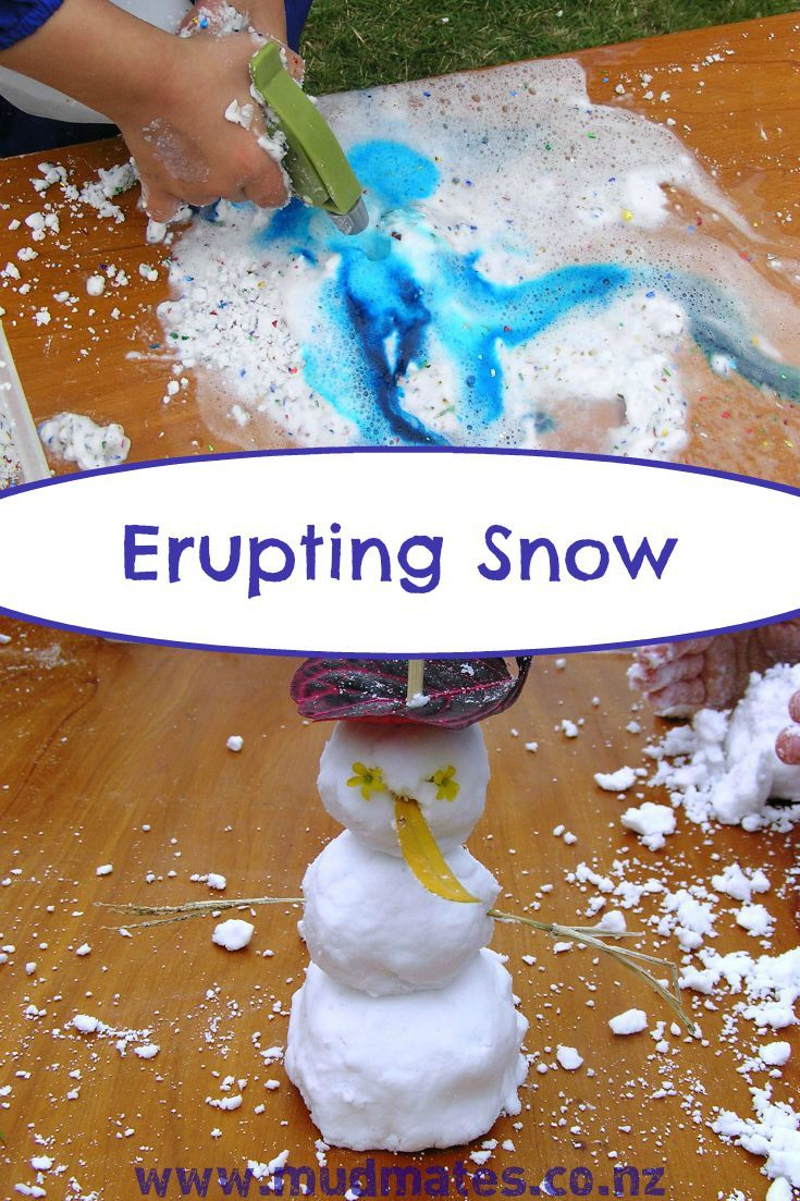 This is absolutely awesome! This is a simple sensory and messy play activity you can make at home using 3 basic ingredients. It's soft and powdery and even feels cool to the touch. It's just like playing with real snow (without the frostbite!)