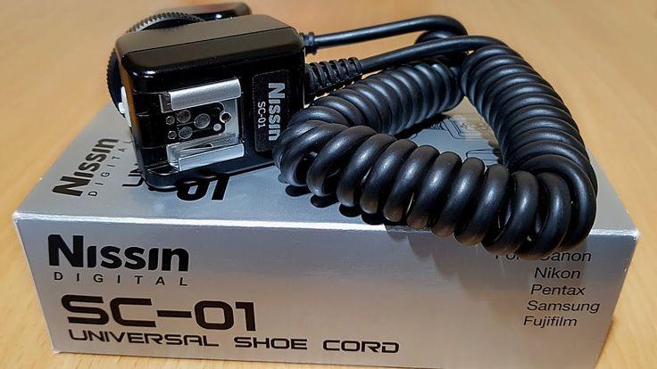 Utilizare cablu sincron TTL universal Nissin SC-01 cu Fujifilm X-T20 si ...