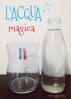 Esperimenti scientifici con i bambini: l'acqua magica