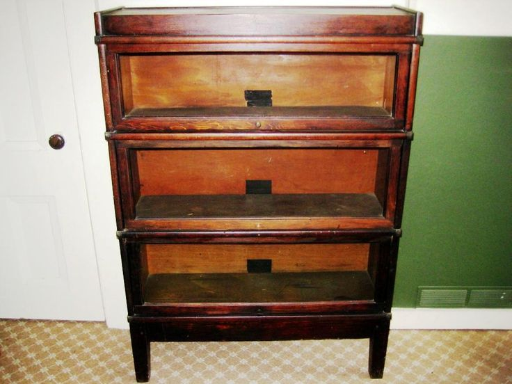 Antique Barrister Bookcase for Sale - Cool Storage Furniture Check more at http://fiveinchfloppy.com/antique-barrister-bookcase-for-sale/