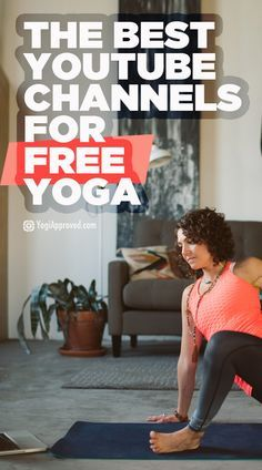 For days that you don't have the time or funds to make it to your local yoga studio, you can turn to the world wide web to get your yoga…