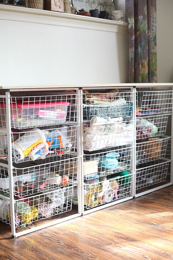 17 Best Images About Sewing Storage Solutions On Pinterest