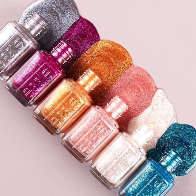 Essie's Crushed Glitter Collection Will Change How You See Nail Polish