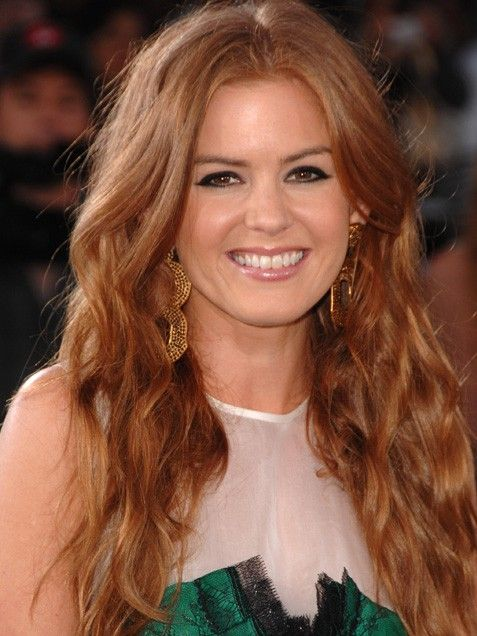 """""""It was great having red hair as a kid because I had something to blame my temper on."""" Isla Fisher <3"""