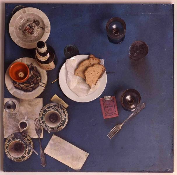 Daniel Spoerri, Tableau Piège, Restaurant Spoerri, 1972