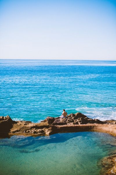 1000 step secret pools, laguna beach