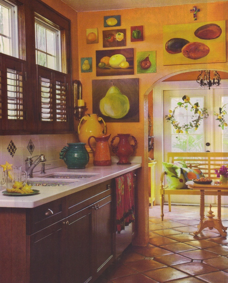 Decor Inspiration A Kitchen To Live In: New Cottage Home Magazine On The Block