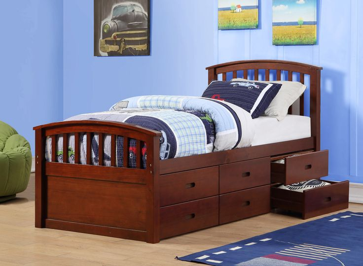 25 best ideas about storage beds on pinterest diy storage bed beds for small rooms and under - Kids twin beds with storage drawers ...