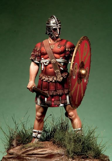 Late empire Roman legionary