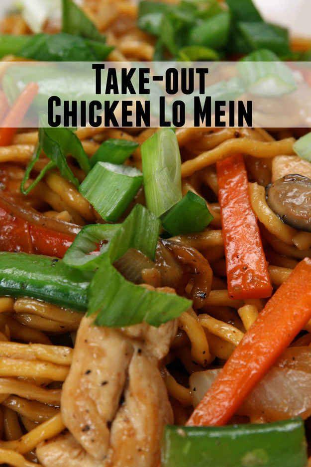 Esta receta de lo mein es tan fácil que podrás abrir tu propio restaurante