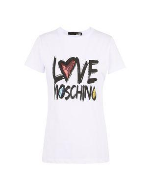 T Shirt Maniche Corte Love Moschino Donna su Moschino Online Store.  Pagamenti sicuri e spedizioni 565ad4bb5e1